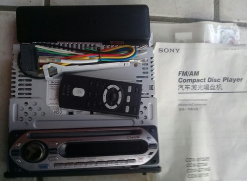 reproductor sony xplod original de cd mp3 (gt250s)