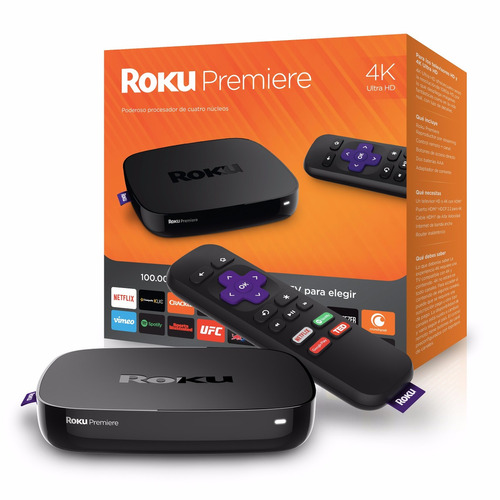 reproductor streaming inalambrico media player roku premiere