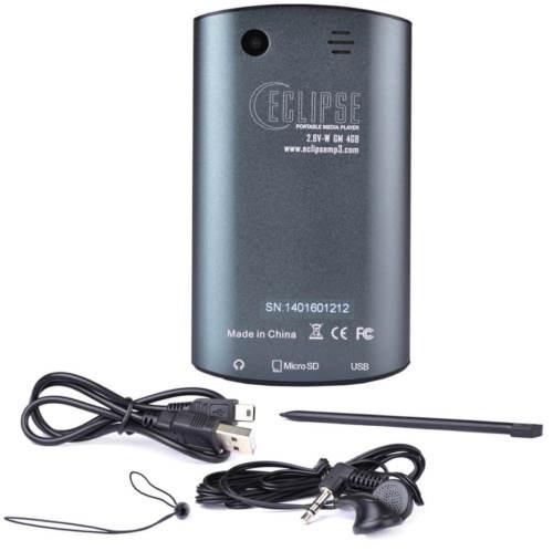 reproductor video mp3 / mp4  touch con cámara nuevo en caja