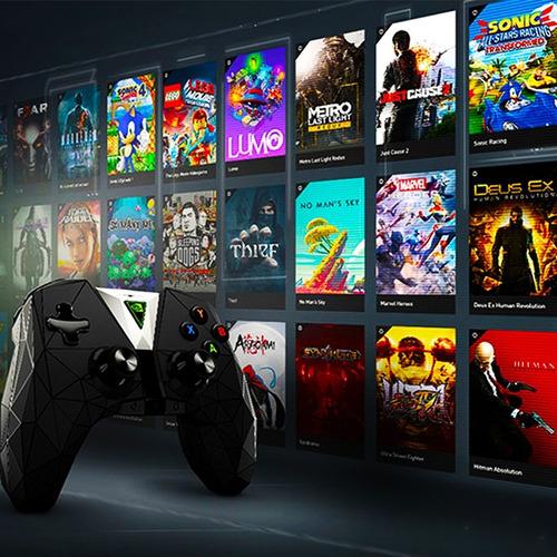 reproductor videojuegos 4k atmos - nvidia shield android tv