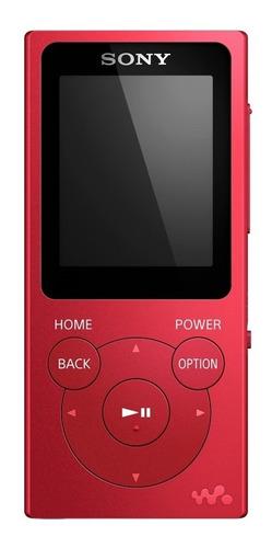 reproductor walkman sony mp3 con radio fm de 4gb -nw-e393