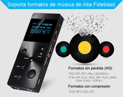 reproductor xduoo x3 alta definicion portable mp3 no cowon