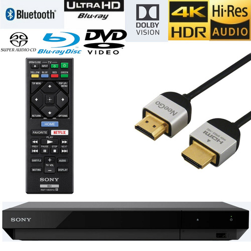 reproductores blu-ray,neego sony ubp x700 streaming 4k u...