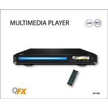 Reproductor De Dvd Qfx Ms