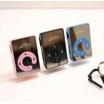 Reproductor De Musica Mp3 Shuffle Espejo New Expandible 16gb