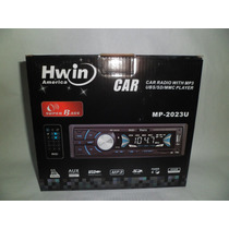 Reproductor De Carro Mp3, Usb Sd, Aux, 4x50w