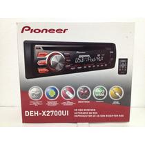 Reproductor Pioneer Dehx2700ui Mp3/wma/cd/cd-r//usb/mixtrax