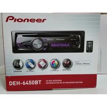 Reproductor Pioneer Deh-6450bt. Totalmente Nuevo Y Original