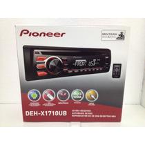 Reproductor Pioneer Dehx1710ub Mp3/wma/cd/cd-r//usb/mixtrax