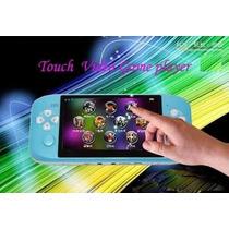 Consola De Juegos Mp3/mp4/mp5 Tactil 4.3¨ + 400 Juegos