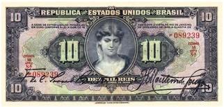 república brasil cédulas reis