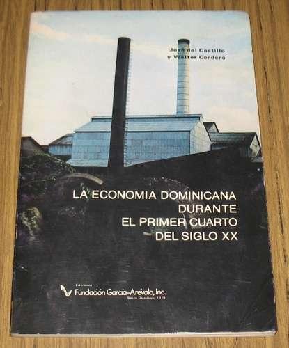 republica dominicana economía s. xx historia josé castillo