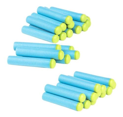 repuesto 10 dardos x shot arma de juguete goma eva accesorio