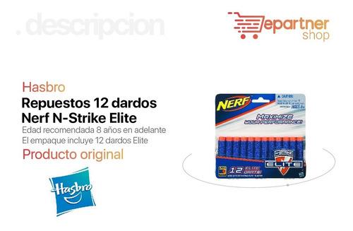 repuesto 12 dardos nerf n-strike elite hasbro a0350 eps