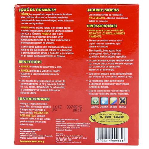repuesto absorbente humidex manzana canela 340 gramos-rojo
