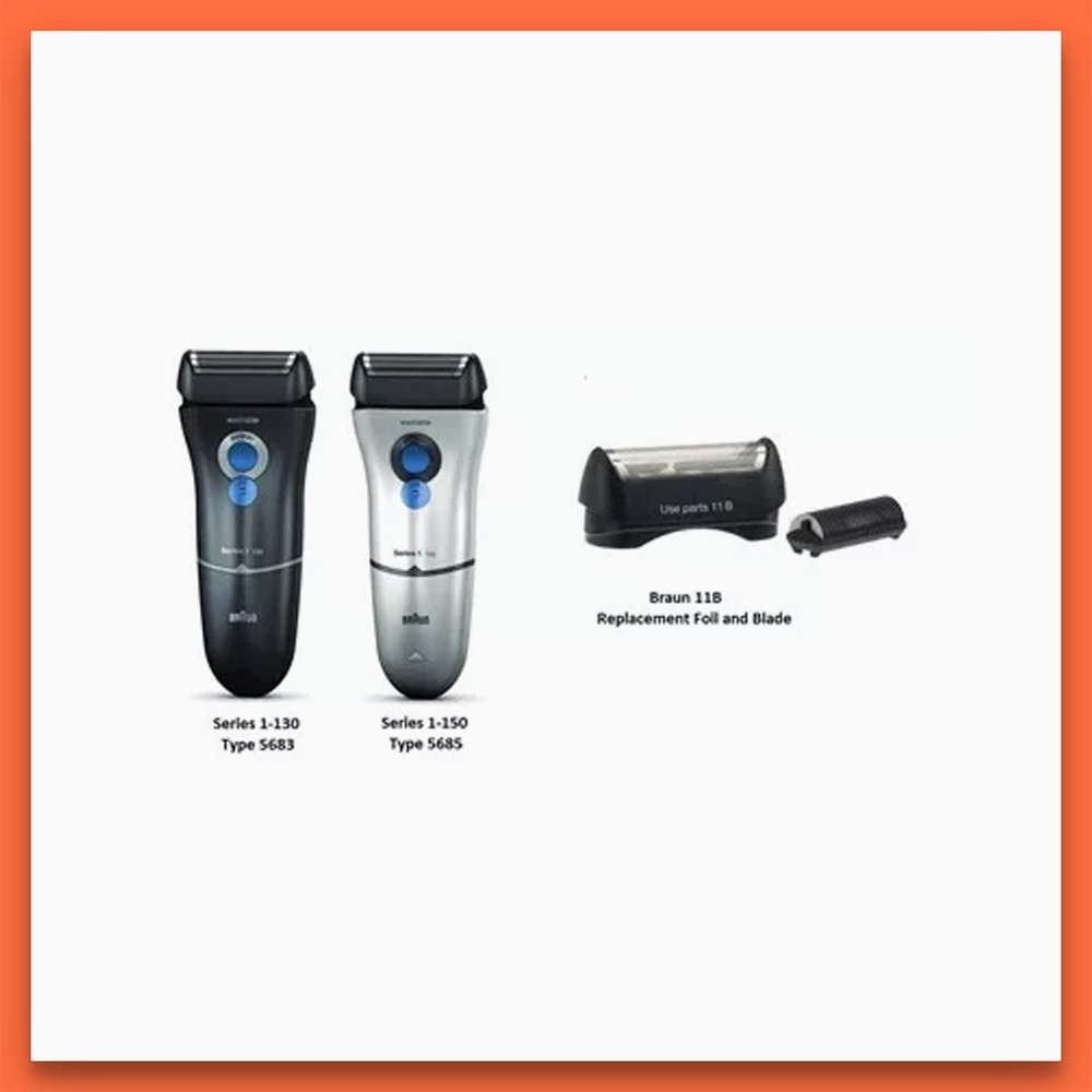 repuesto afeitadora braun 11b original serie 1-130 1-150. Cargando zoom. a0998f13775a