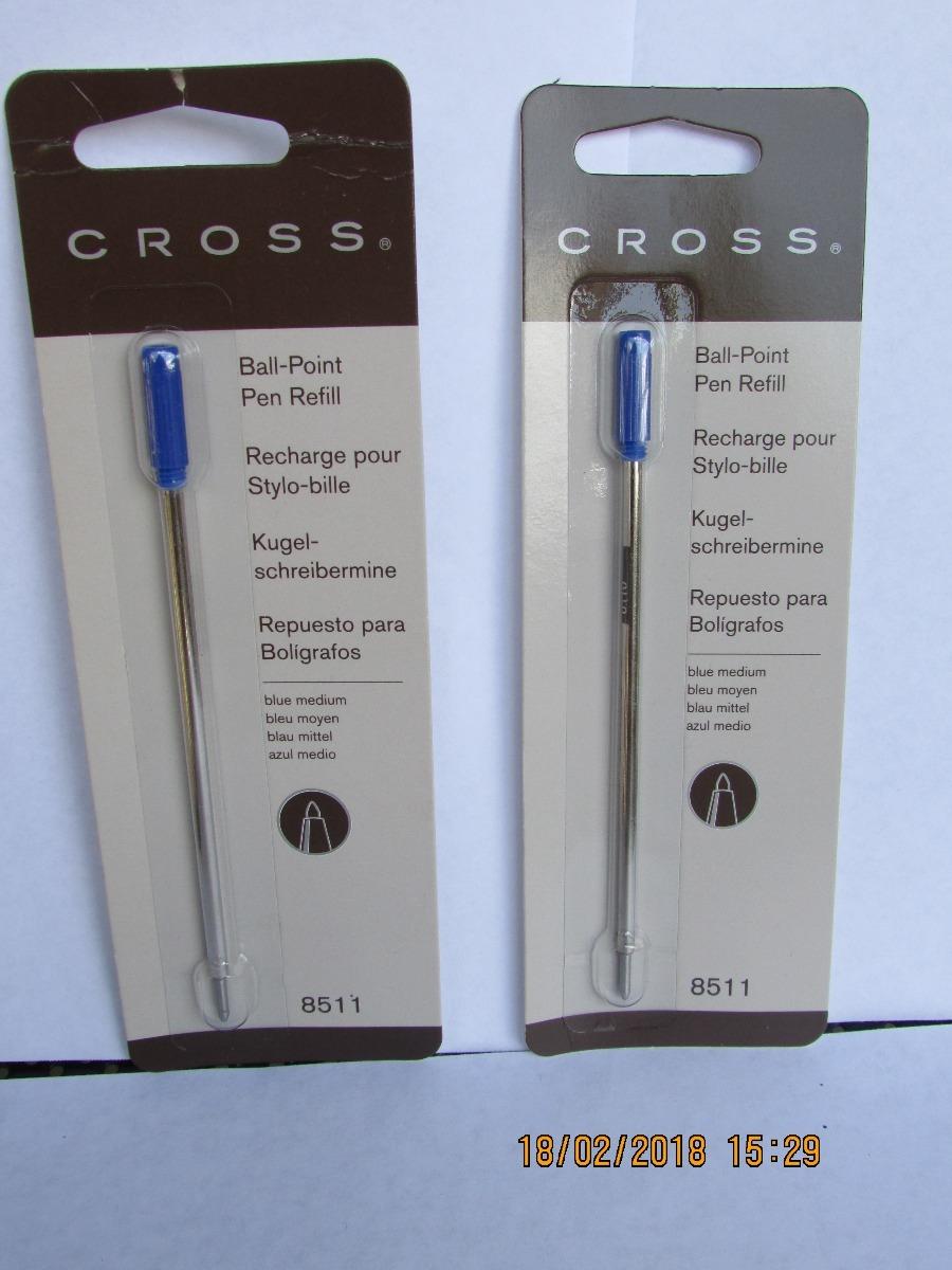 Cross 8511 color azul Recambio