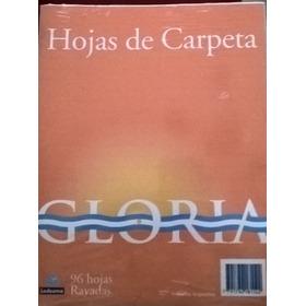 Repuesto Carpeta 96 Hojas Rayadas Gloria