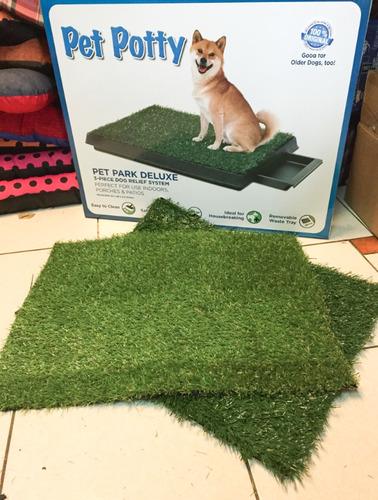 repuesto cesped pasto sintetico baño ecologico perros orines