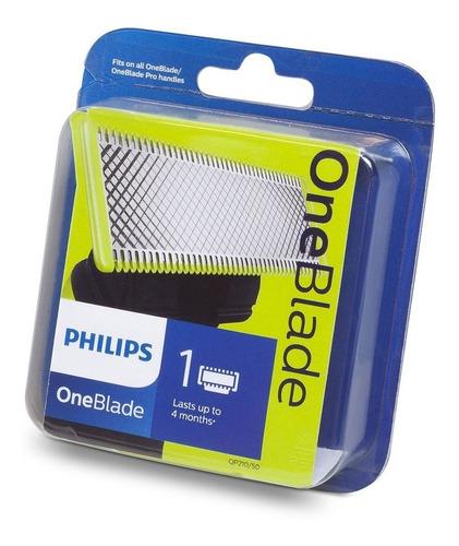 repuesto cuchilla philips oneblade qp210/50 - one blade