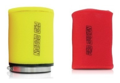 repuesto de goma espuma filtro aire pro design raptor 700