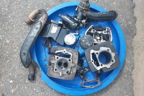repuesto de moto dt bera 200 año 2013 tengo piezas del motor