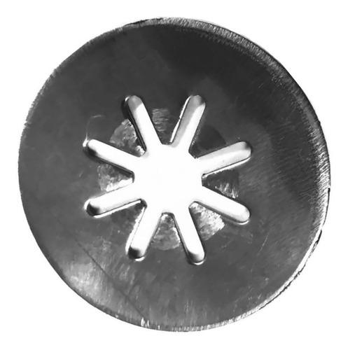repuesto estrella simple de acero para churrera industrial