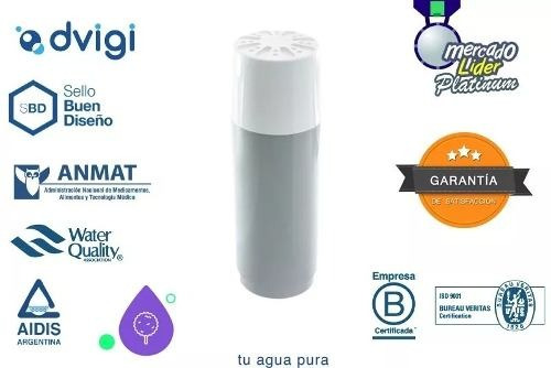 repuesto filtro purificador agua sobremesada dvigi soundgrou