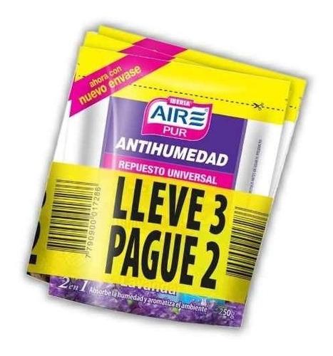 repuesto granulado universal antihumedad  distribuidor oficial aire pur doy pack  3x2
