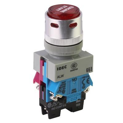 repuesto interruptor para vehiculo empuje luz ignicion azul