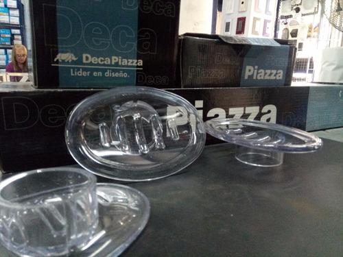 Repuesto Jabonera Acrilico Cristal X3u. Oferta Microcentro -   242 ... de3a928ad029