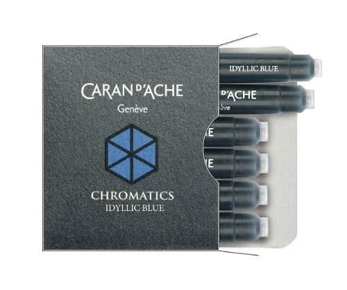repuesto lapicera carandache chromatics blue 8021.140 azul