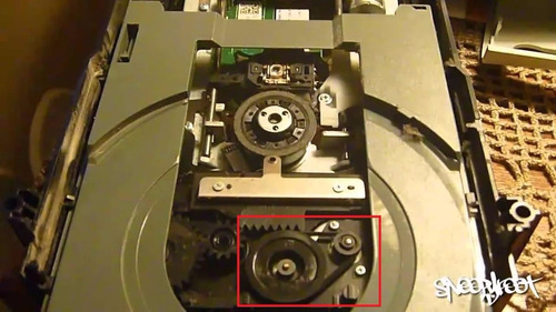 repuesto ligas para bandeja lectora xbox 360 dvd blue ray