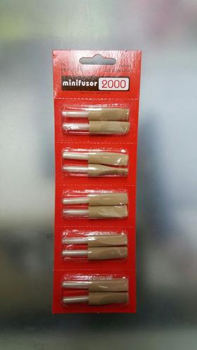 repuesto minifusor, precio por blister de 10u.