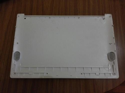 repuesto netbook cx 23200w. carcasa inferior.