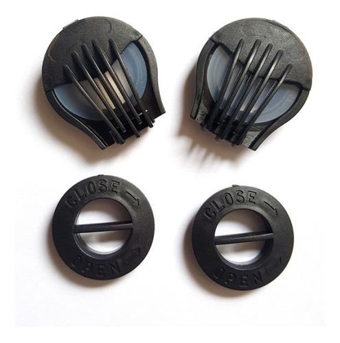 repuesto pack x2 válvulas para mascarilla/tapabocas tipo n95