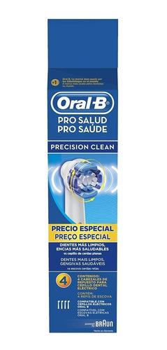 repuesto para cepillo electrico c/4 precision clean