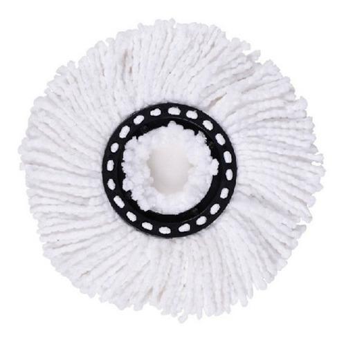 repuesto para mopa redondo universal algodón ultra absorbente lampazo escurridor giratorio x unidad