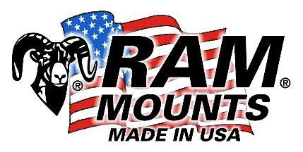 repuesto ram mounts adaptador bola 17 mm p/ cuna gps