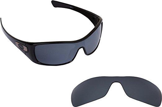 3615d20445 Repuesto Seek Optics Gafas Oakley Antix Negro Iridium Polar ...