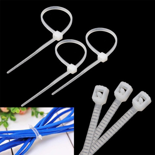 repuesto sujetador cable tie 25cm self-locking nylon wire