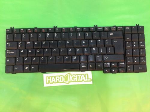 repuesto teclado lenovo g550