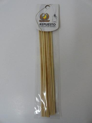 repuesto varillas de bambu