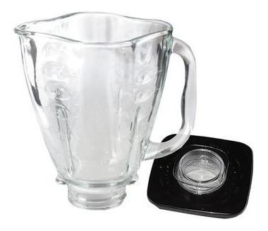 repuesto vaso trébol licuadora + tapa oster original vidrio