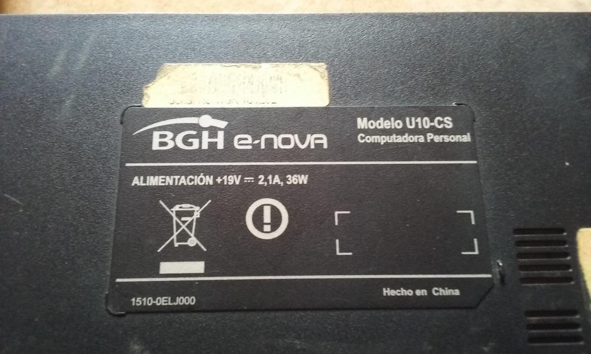 DRIVER UPDATE: BGH E-NOVA U10-CS