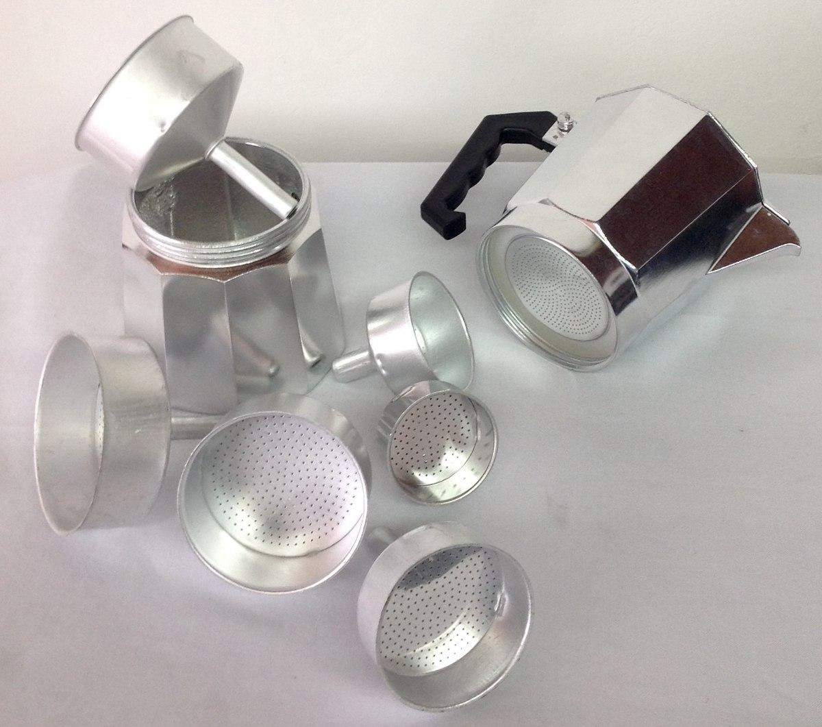 Recambio filtro de cafetera con 3 gomas universal para 3 6 9