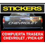 Calcomania Compuerta Chevrolet Pick Up