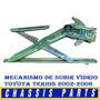 Cremallera De Subir Vidrio Manual Toyota Terios 02/06 L Y R