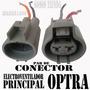 Pareja De Conector De Electroventilador Radiador Optra