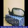 Retrovisor Derecho Manual Hyundai Accent